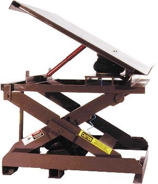 Pneumatic Lift And Tilt Tables