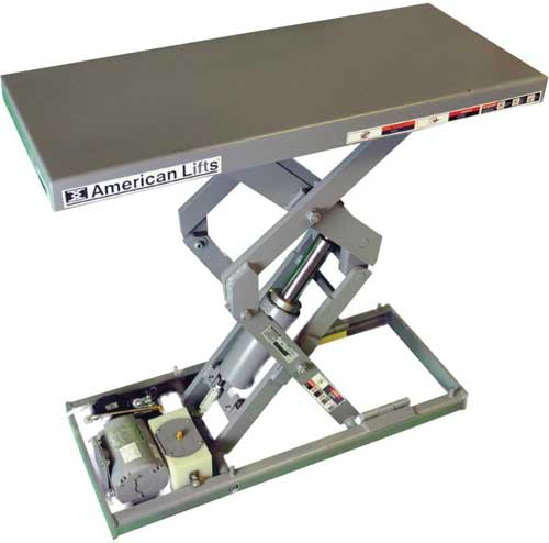 American Lifts Compact Series Tables By Autoquip