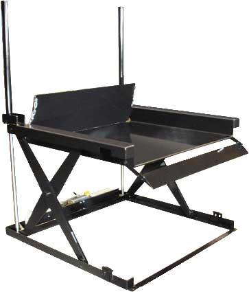Autoquip 48xlra5264 30 Ground Entry Lift Table