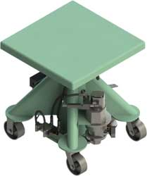 Mobile Post Lifts Hydraulic Mechanical Pneumatic