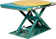 Rotating Low Profile Lift Tables