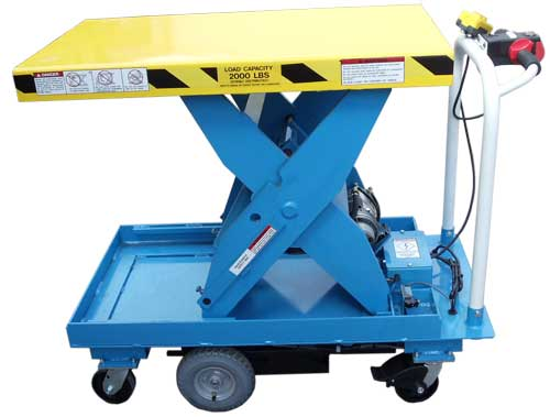 Lift Products Lpmc Self Propelled Lift Tables