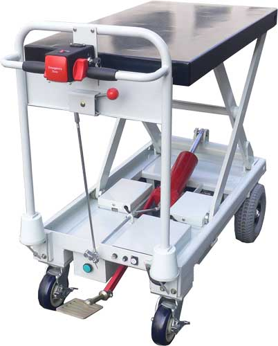 Lift Products Moto Cart Jr With Manual Lift Top