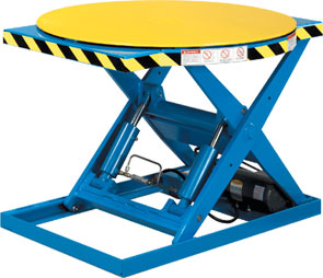 Rotating Lift Tables