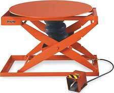 Air Rotating Lift Tables
