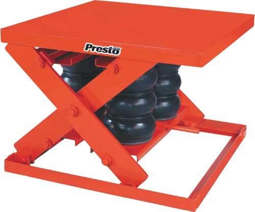 Presto Axs Pneumatic Lift Tables
