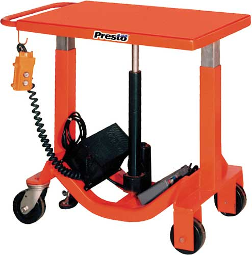 Presto Lifts Battery Post Lift Tables
