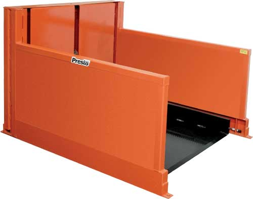 Presto P4 Floor Level Loader