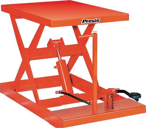 Presto Xf24 10 Manual Pump Up Lift Table