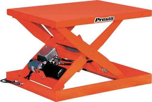 Presto Lift Tables : Presto xs light duty lift tables