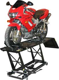 Manual Motorcycle Lifts