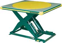 Rotating Top Lift Tables