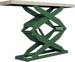 Double High Lift Tables