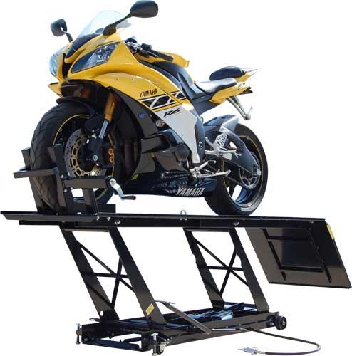 K L Motorcycle Hydraulic Lift : Titan l air hydraulic motorcycle lift tables