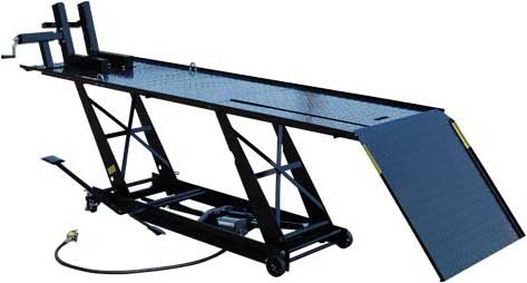 Titan 1000l Air Hydraulic Motorcycle Lift Tables