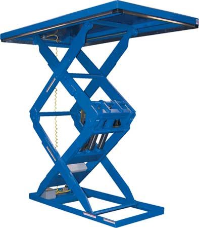Double High Scissors Lift Tables
