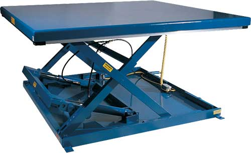 Low Profile Hydraulic Lift Tables