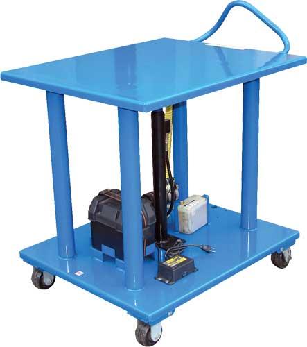 Vestil Ht Dc Battery Powered Post Lift Tables
