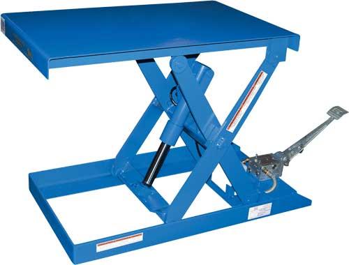 Manual Pump Up Lift Tables