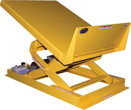Vestil Ultt Lift And Tilt Workstation Table