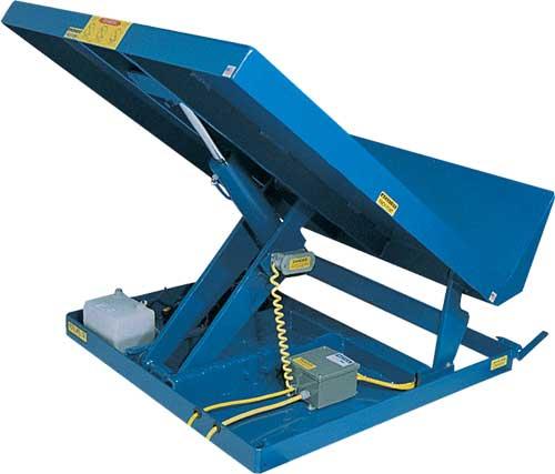 Vestil Uni Tilt Single Scissors Combined Lift And Tilt Tables